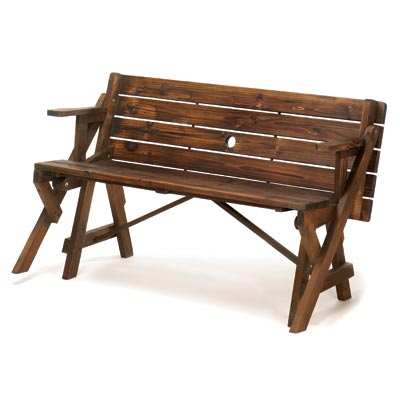 Picnic Table Converts Park Bench Carefairs Shopping